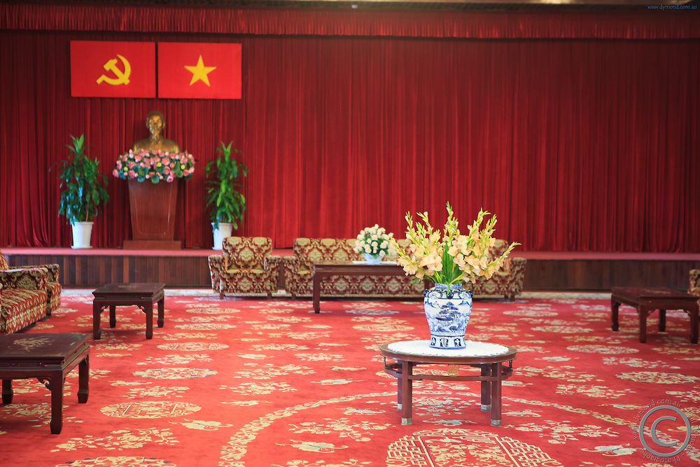 A state room within the Independence Place, Ho Chi Minh City, Vietnam