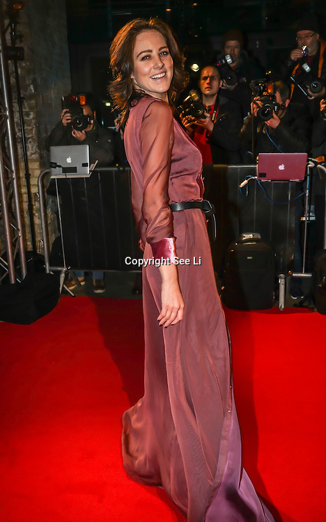 London,England,UK. 21th Fen 2017.  Eliza Cummings attends London Fabulous Fund Fair hosted by Natalia Vodianova and Karlie Kloss in support of The Naked Heart Foundation on February 21, 2017 at The Roundhouse in London, England.,UK. by See Li