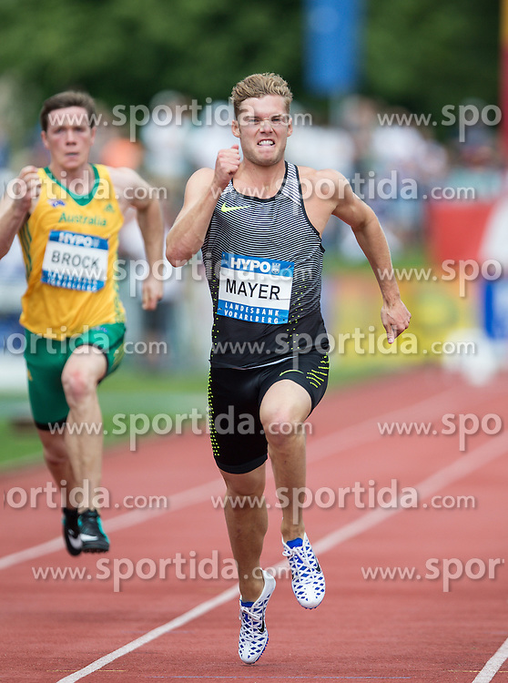 28.05.2016, Moeslestadion, Goetzis, AUT, 42. Hypo Meeting Goetzis 2016, Zehnkampf der Herren, 400 Meter, im Bild Kevin Mayer (FRA) // Kevin Mayer of France in action during the 400 metres event of the Decathlon competition at the 42th Hypo Meeting at the Moeslestadion in Goetzis, Austria on 2016/05/28. EXPA Pictures © 2016, PhotoCredit: EXPA/ Peter Rinderer