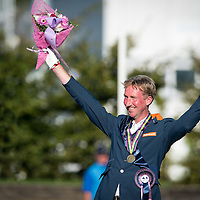 Prize Giving - Individual Competition - FEI European Para Dressage Championships 2015 - Deauville