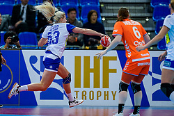 13-12-2019 JAP: Semi Final Netherlands - Russia, Kumamoto<br /> The Netherlands beat Russia in the semifinals 33-22 and qualify for the final on Sunday in Park Dome at 24th IHF Women's Handball World Championship / Kristina Kozhokar #63 of Russia