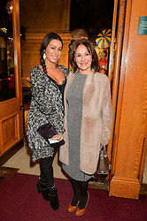 Left to right, ALANA PHILLIPS and her mother ARLENE PHILLIPS at the opening night of Amaluna by Cirque Du Soleil at The Royal Albert Hall, London on 19th January 2016.