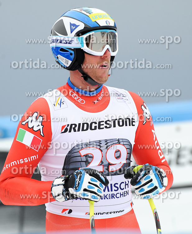 27.02.2015, Kandahar, Garmisch Partenkirchen, GER, FIS Weltcup Ski Alpin, Abfahrt, Herren, 2. Training, im Bild Werner Heel of Italy // during the 2nd trainings run for the men's Downhill of the FIS Ski Alpine World Cup at the Kandahar in Garmisch Partenkirchen, Germany on 2015/02/27. EXPA Pictures © 2015, PhotoCredit: EXPA/ Erich Spiess