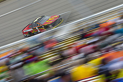 June 10, 2018 - Brooklyn, Michigan, United States of America - Jamie McMurray (1) races off turn one during the FireKeepers Casino 400 at Michigan International Speedway in Brooklyn, Michigan. (Credit Image: © Stephen A. Arce/ASP via ZUMA Wire)