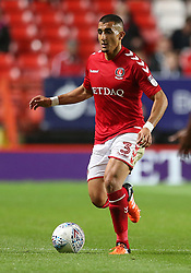 Charlton Athletic Ahmed Kashi in action