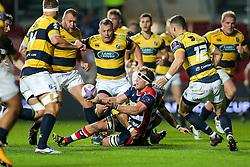 Nick Koster of Bristol Rugby in action - Rogan Thomson/JMP - 14/10/2016 - RUGBY UNION - Ashton Gate Stadium - Bristol, England - Bristol Rugby v Saracens - EPCR Challenge Cup.