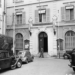 The Town Hall,  Monaco in February 1956.
