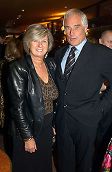 MR & MRS ROBERT KILROY-SILK he is the MEP and TV presenter at a pre-screening party of a film by Fiona Sanderson entitled 'The Hunt For Lord Lucan' held at Langans, 254 Old Brompton Road, London SW7 on 8th November 2004.<br /><br />NON EXCLUSIVE - WORLD RIGHTS