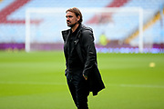 Norwich City Manager Daniel Farke takes in his surroundings on the pitch during the EFL Sky Bet Championship match between Aston Villa and Norwich City at Villa Park, Birmingham, England on 19 August 2017. Photo by Dennis Goodwin.