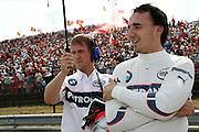 05.08.2007 Budapest, Hungary, .Robert Kubica (POL),  BMW Sauber F1 Team - Formula 1 World Championship, Rd 11, Hungarian Grand Prix, Sunday Pre-Race Grid .FOT. XPB.CC / WROFOTO.*** POLAND ONLY !!! ***.NO INTERNET / MOBILE USAGE