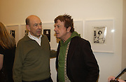 Anthony D'Offay and Nicky HaslamWarhol's World. Photography and Television. Hauser and Wirth. Piccadilly, London. 26  January 2006.  ONE TIME USE ONLY - DO NOT ARCHIVE  © Copyright Photograph by Dafydd Jones 66 Stockwell Park Rd. London SW9 0DA Tel 020 7733 0108 www.dafjones.com