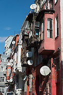 Turkey. Istambul. Kumcapi district, Quartier de Kumkapi