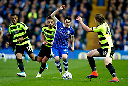 Michael Hefele of Huddersfield Town tackles Fernando Forestieri of Sheffield Wednesday - Mandatory by-line: Matt McNulty/JMP - 17/05/2017 - FOOTBALL - Hillsborough - Sheffield, England - Sheffield Wednesday v Huddersfield Town - Sky Bet Championship Play-off Semi-Final 2nd Leg