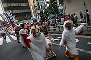 March to Close All Slaughterhouses June 12, 2016, Tokyo, Japan.