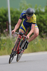 26.06.2015, Einhausen, GER, Deutsche Strassen Meisterschaften, im Bild Christopher Maletz (LV Meister SAH 2015!!) // during the German Road Championships at Einhausen, Germany on 2015/06/26. EXPA Pictures © 2015, PhotoCredit: EXPA/ Eibner-Pressefoto/ Bermel<br /> <br /> *****ATTENTION - OUT of GER*****