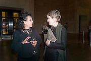 ZINEB SEDIRA; PENELOPE CURTIS, Migrations private view, Tate Britain. London. 30 January 2012.