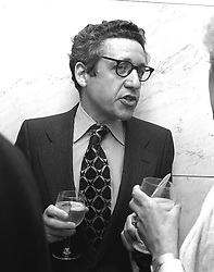 BERNARD LEVIN at the Floral Luncheon at The Savoy, London in May 1981.