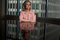 Beth Weatherman who runs Warburg Pincus's investments in healthcare, including the $4.5 billion deal for the eye care company Bausch & Lomb, which is currently moving towards an initial public offering. She joined Warburg in 1988, at a time when there were hardly any women in prominent positions in the industry...Photo by Robert Caplin..