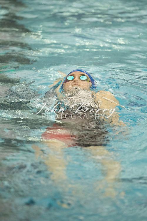 February 22, 2016.  <br /> VHSL 2A State Swim Preliminaries at Christiansburg Aquatic Center