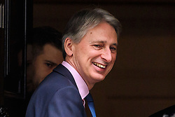 © Licensed to London News Pictures. 22/02/2017. London, UK. British CHANCELLOR PHILIP HAMMOND seen outside 11 Downing Street in London. Photo credit: Ben Cawthra/LNP