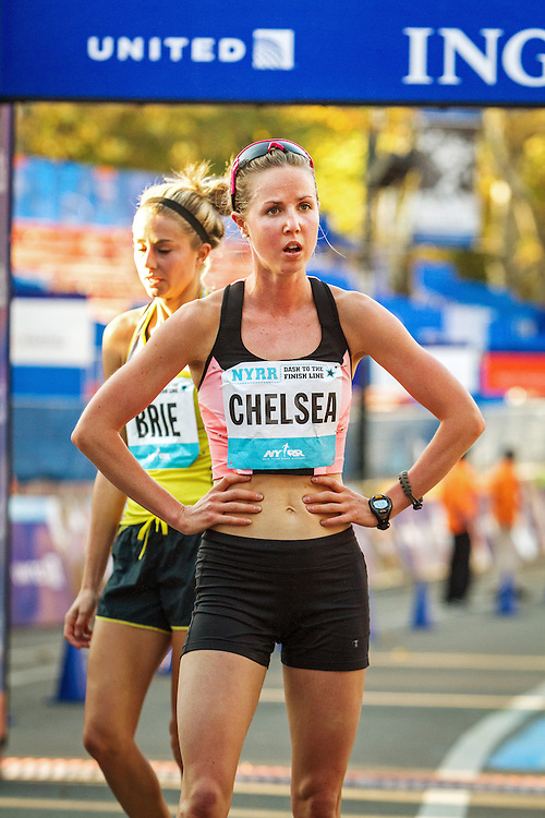 NYRR Dash to the Finish Line 5K road race: Chelsea Reilly