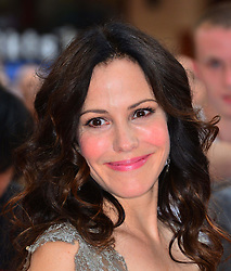 Red 2 UK film premiere.<br /> Mary Louise Parker during the premiere of the sequel to 2010's graphic novel adaption, about a group of retired assassins. <br /> Empire Leicester Square<br /> London, United Kingdom<br /> Monday, 22nd July 2013<br /> Picture by Nils Jorgensen / i-Images