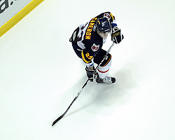Bryan Cameron of the Barrie Colts in Game 3 of the Rogers OHL Championship Series in Windsor on Sunday May 2. Photo by Aaron Bell/OHL Images