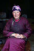 Stunning images reindeer herders of Mongolia<br /> <br /> Tsaatan people are reindeer herders and live in northern Kh&ouml;vsg&ouml;l Aimag of Mongolia. Originally from across the border in what is now Tuva Republic of Russia,the Tsaatan are one of the last groups of nomadic reindeer herders in the world. They survived for thousands of years inhabiting the remotest Ulaan ta&iuml;ga, moving between 5 and 10 times a year. <br /> The reindeer and the Tsaatan people are dependent on one another. Some Tsaatan say that if the reindeer disappear, so too will their culture. The Tsaatan depend on the reindeer for almost, if not all, of their basic needs:  their reindeers provide them with milk, cheese, meat, and transportation. They sew their clothes with reindeer hair, reindeer dung fuels their stoves and antlers are used to make tools. They do not use their animals for meat. This makes their group unique among reindeer-herding communities. As the reindeer populations shrink, only about 40 families continue the tradition today. Their existence is threatened by the dwindling number of their domesticated reindeer. Many have swapped their nomadic life for urban areas. <br /> <br /> Narahuu and Bolorma, husband and wife<br /> &copy;Pascal MANNAERTS/Exclusivepix Media