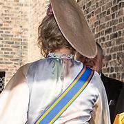NLD/Den Haag/20180918 - Prinsjesdag 2018, Hoed koningin Maxima