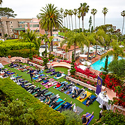 La Valencia Hotel Yoga Taco Tuesday 2017