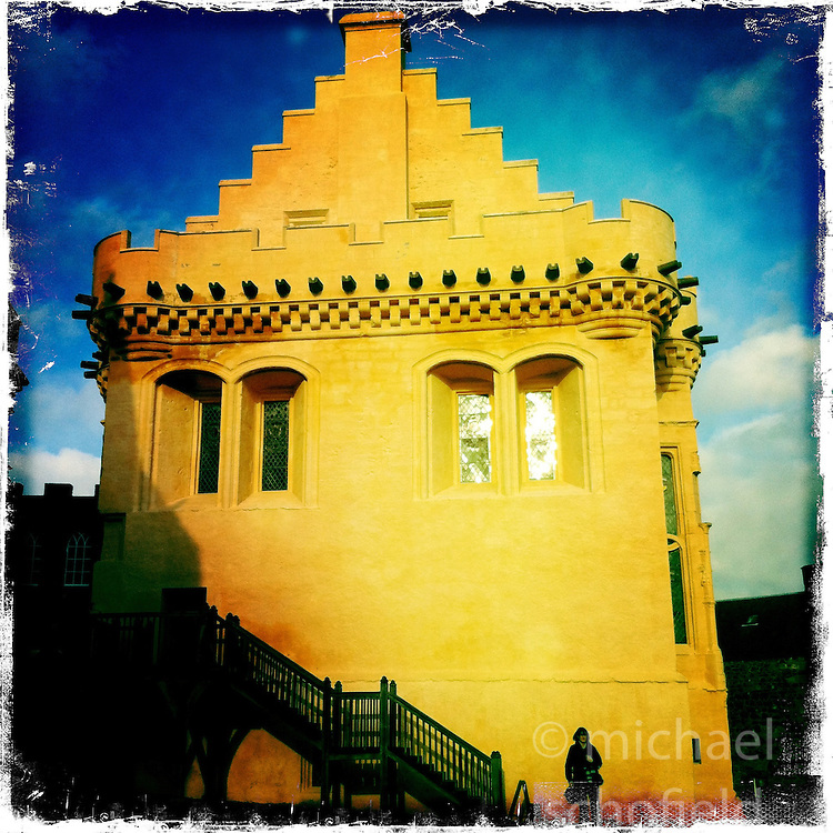 Stirling Castle..Hipstamatic images taken on an Apple iPhone..©Michael Schofield.