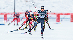 06.12.2015, Nordic Arena, NOR, FIS Weltcup Nordische Kombination, Lillehammer, Langlauf, im Bild Magnus Krog (NOR) // Magnus Krog of Norway during Cross Country Competition of FIS Nordic Combined World Cup at the Nordic Arena, Lillehammer, Norway on 2015/12/06. EXPA Pictures © 2015, PhotoCredit: EXPA/ JFK