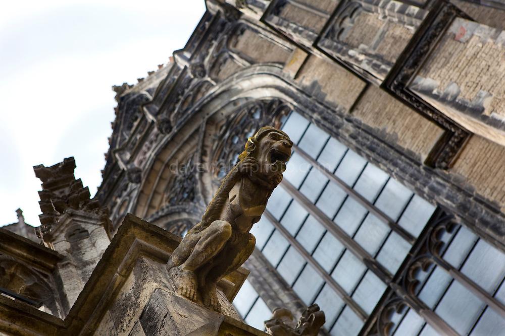 Gargoyles on the Dom Kerk, Utrecht