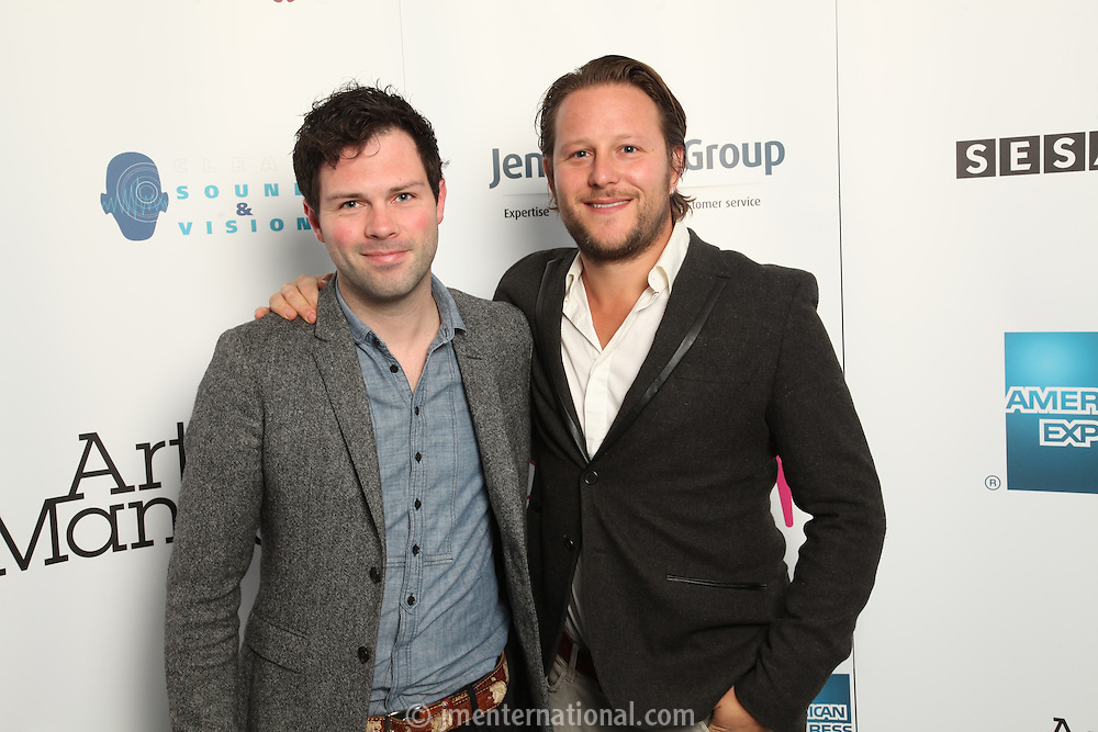Jesse Quin (Keane) and Adam Tudhope.The Artist and Manager Awards 2011, The Roundhouse, London..Tuesday, Sep.13, 2011