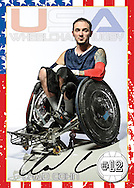 2012 Team USA Wheelchair Rugby Team.  Paralympics, London