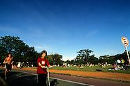 Buenos Aires-Los Bosches de Palermo &egrave; un'oasi verde frequentata dai giovani che vanno a fare jogging.<br /> &copy; Paolo della Corte