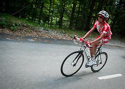 Patrik Sinkewitz (GER) of Maridiana Kamen during Stage 3 from Skofja Loka to Vrsic (170 km) of cycling race 20th Tour de Slovenie 2013,  on June 15, 2013 in Slovenia. (Photo By Vid Ponikvar / Sportida)