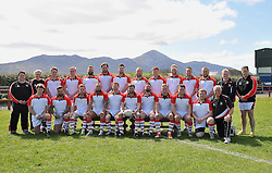 Ulster Junior Interprovincial team pictured before their game against Connacht at Westport RFC.<br /> Pic Conor McKeown