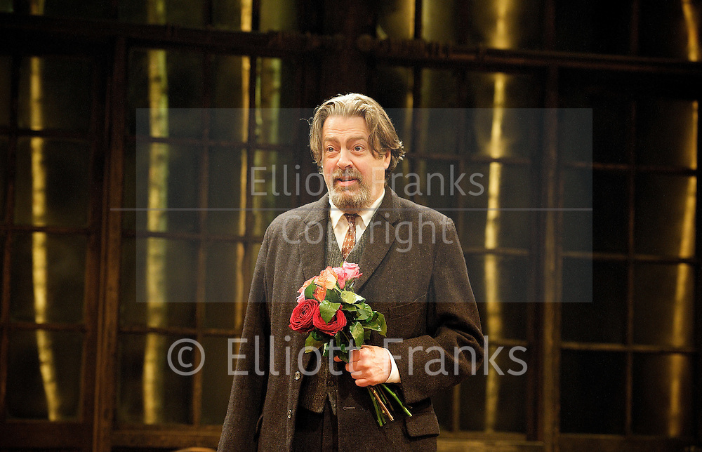 Uncle Vanya<br /> by Anton Chekhov<br /> translated by Michael Frayn <br /> directed by Jeremy Herrin<br /> at The Minerva Theatre, Chichester, West Sussex, Great Britain <br /> <br /> Press photocall<br /> <br /> 4th April 2012 <br /> <br /> Maggie Steed (as Maria Vasilyevna)<br /> Roger Allam (as Uncle Vanya)<br /> Lara Pulver (as Yelena)<br /> Alexander Hanson (as Astrov)<br /> Timothy West (as Professor Serebryakov)<br /> Dervla Kirwan (as Sonya)<br /> Maggie McCarthy (as Marina)<br /> Anthony O'Donnell (as Telegin)<br /> <br /> <br /> Photograph by Elliott Franks