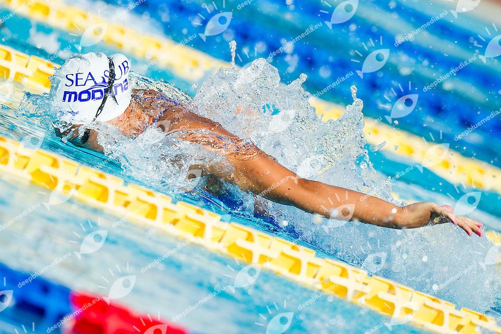 Teania Quaglieri ITA<br /> Seasub Modena<br /> 50 Farfalla Donne<br /> Stadio del Nuoto, Roma<br /> Day 05 08-08-2016<br /> Campionati Italiani di Categoria 2016<br /> Photo Andrea Masini/Deepbluemedia/Insidefoto