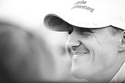 February 21, 2012: Formula One Testing, Circuit de Catalunya, Barcelona, Spain. Michael Schumacher, Mercedes W03