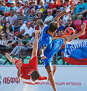 EURO BEACH SOCCER LEAGUE MINSK 2018