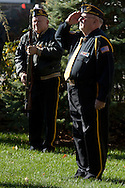 Wurtsboro - American Legion Post 1266 holds a Veterans Day service at at Veterans Park on Nov. 11, 2013.