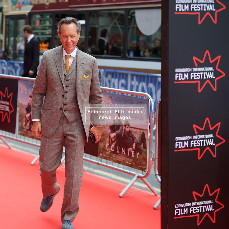 Richard E Grant on the red carpet at the Edinburgh International Film Festival Opening Night Gala of the UK  Premier, God's Own Country directed by Francis Lee at Edinburgh's Festival Theatre. Wednesday 21st June 2017(c) Brian Anderson | Edinburgh Elite media