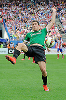 Athletic Club´s Oscar de Marcos during 2014-15 La Liga match between Atletico de Madrid and Athletic Club at Vicente Calderon stadium in Madrid, Spain. May 02, 2015. (ALTERPHOTOS/Luis Fernandez)