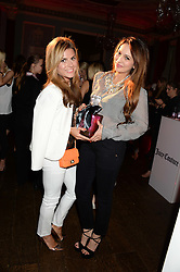 Left to right, ZOE HARDMAN and ZARA MARTIN at the Juicy Couture - Viva La Juicy perfume Party held at Home House, Portman Square, London on 30th May 2013.