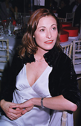 Actress AMANDA DONOHUE at a party in London on 5th June 1999. MSX 166