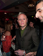 KEITH FLINT OF PRODIGY, Kerrang Awards 2009. Whitbread Brewery. Chiswell st. London. 3 August 2009.