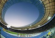 BERLIN 19/08/2009.12th IAAF World Championships in Athletics Berlin 2009.1500 Metres Men Final.General view of the Olympic stadium in Berlin ..Phot: Piotr Hawalej / WROFOTO