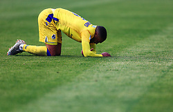 Tareiq Holmes-Dennis of Bristol Rovers looks dejected - Mandatory by-line: Matt McNulty/JMP - 27/04/2019 - FOOTBALL - Highbury Stadium - Fleetwood, England - Fleetwood Town v Bristol Rovers - Sky Bet League One